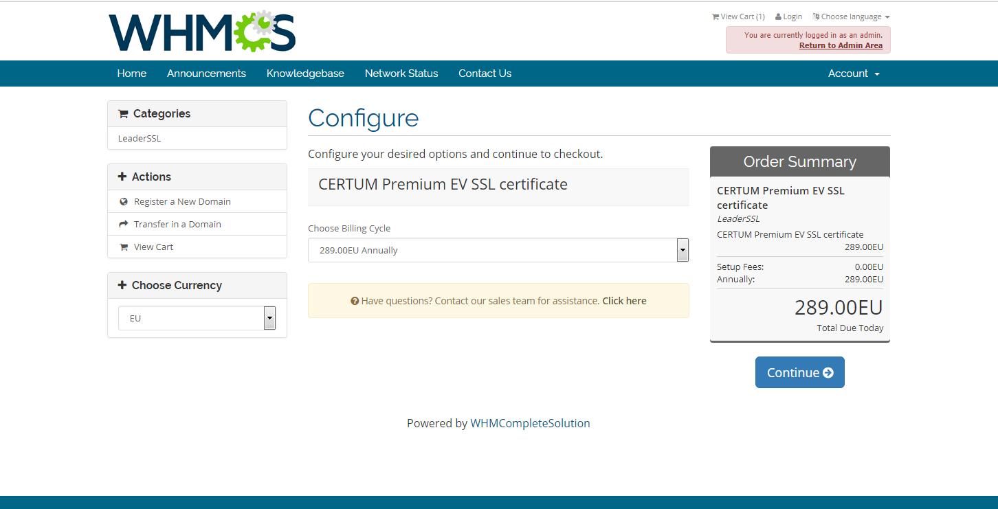 LeaderSSL - SSL-certificate: Comodo, Symantec, Thawte, GeoTrust